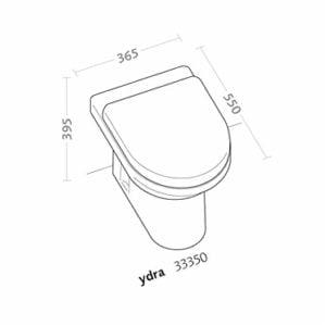 vaso ydra pozzi ginori disegno tecnico - edil siani