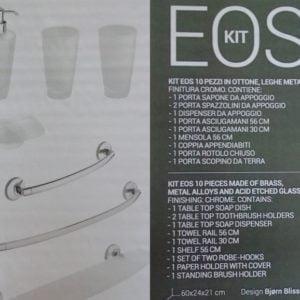 kit eos 10 pezzi Metaform arredo bagno - edil siani