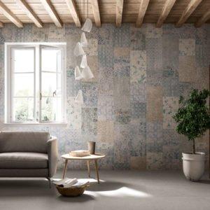 kerlite wanderwall patchwork plus cotto d'este - edil siani