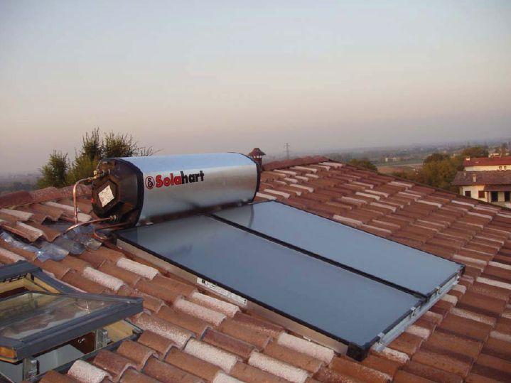 Pannello Solare Danneggiato : Pannello solare kf solahart impianto termico
