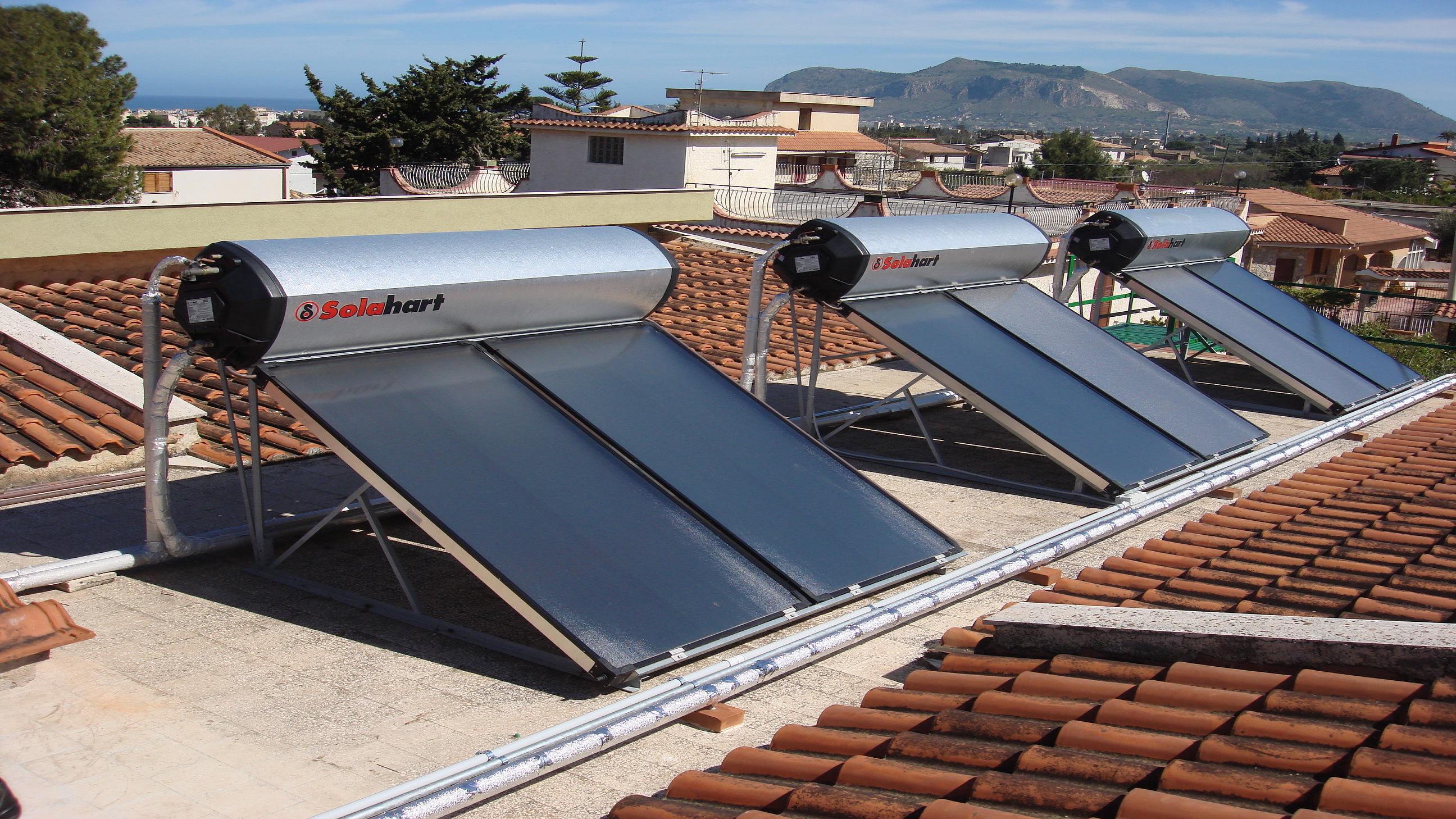 Pannello Solare Per Uso Domestico : Pannello solare kf solahart impianto termico