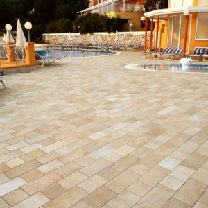 barge gialla ceramica panaria pavimento effetto pietra per esterni - Edil Siani 6