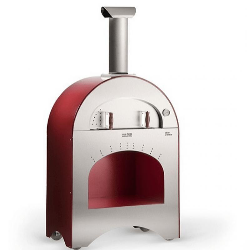 Forno Pizza e brace a gas Alfa pizze per esterno - Edil Siani
