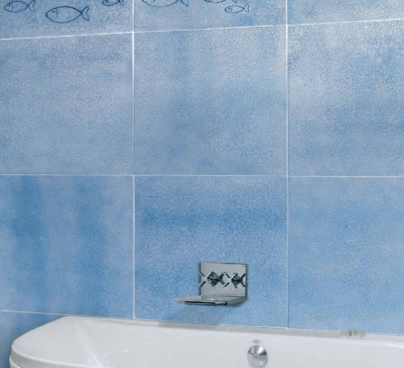 Ceramica Vietri Antico Srl.Azzurro Oltremare Vietri Antico 10x10 20x20 Cm Prima Scelta Edil Siani