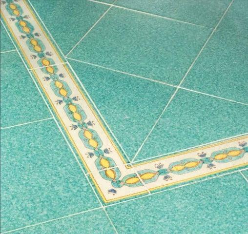 Verde smeraldo vietri antico vari formati prima scelta - Ceramiche vietri bagno ...