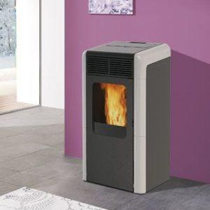 termostufa a pellet Naomy italiana camini 15 kw - edilsiani