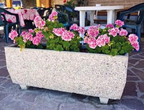 fioriera ghiaino Bonfante arredo giardino - edil siani