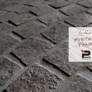 pietra di fanes grigio misto panaria ceramica gres effetto pietra per esterni - edil siani