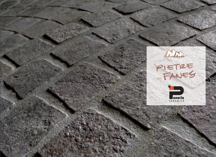 Pietra di fanes grigio misto ceramica panaria pavimento per