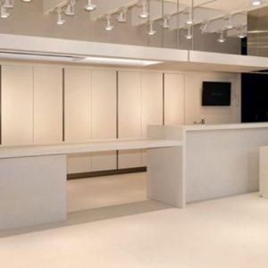 kerlite black-white ultrawhite - centro commerciale edil siani