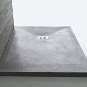 Piatto doccia Stonefit 80X120 Samo grigio R17 D3683 - Edil Siani
