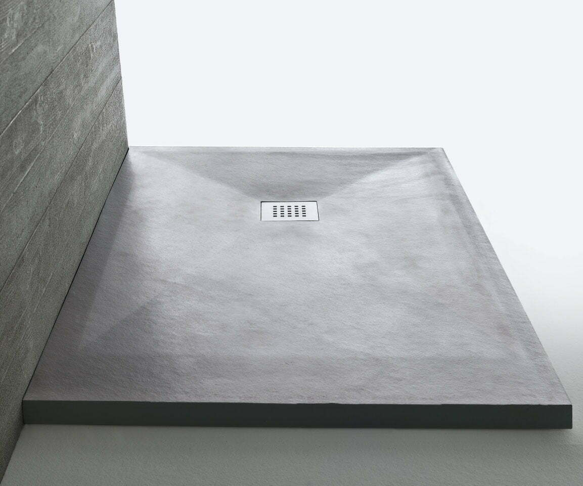 Piatto doccia stonefit 80x120 samo grigio shop edil siani - Posare un piatto doccia ...