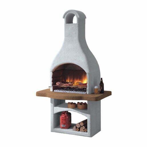 Foto barbecue in muratura cheap barbecue e forno in for Offerte barbecue in muratura