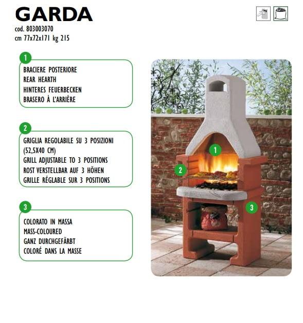 bbq barbecue in muratura Garda Palazzetti - Edil Siani Srl