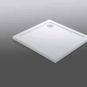 Piatto doccia quadrato in Policril 80X80 Samo bianco - edil siani