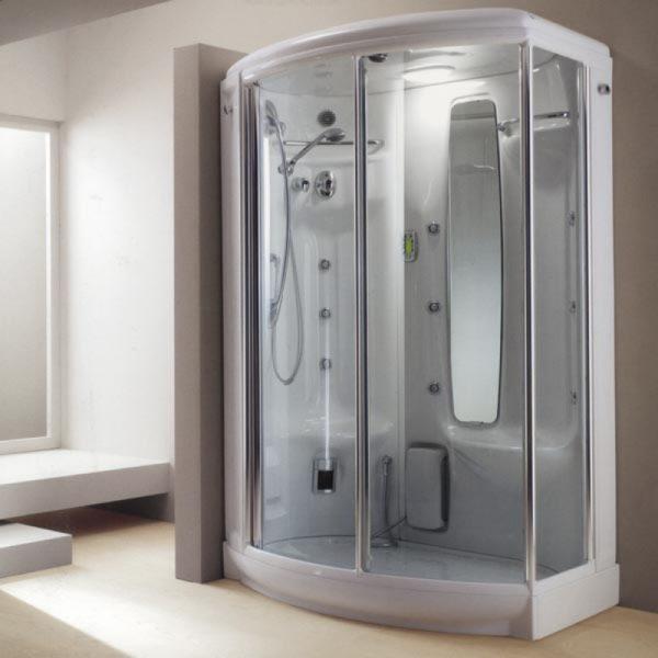 Cabina doccia multifunzione next 140 executive teuco edil siani - Doccia bagno turco teuco ...