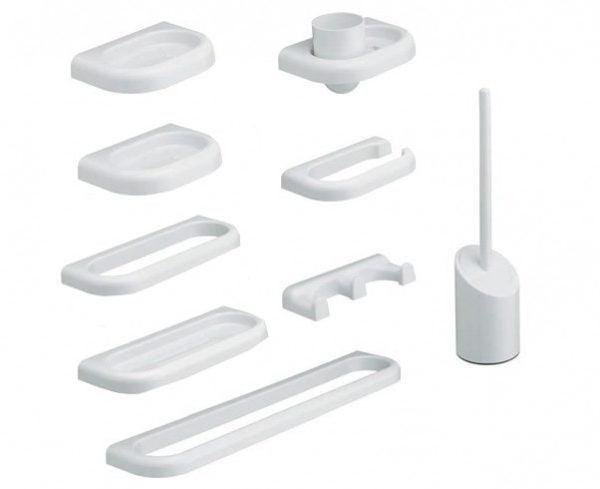 kit linea 9 pezzi metaform accessori bagno - edil siani - Kit Arredo Bagno