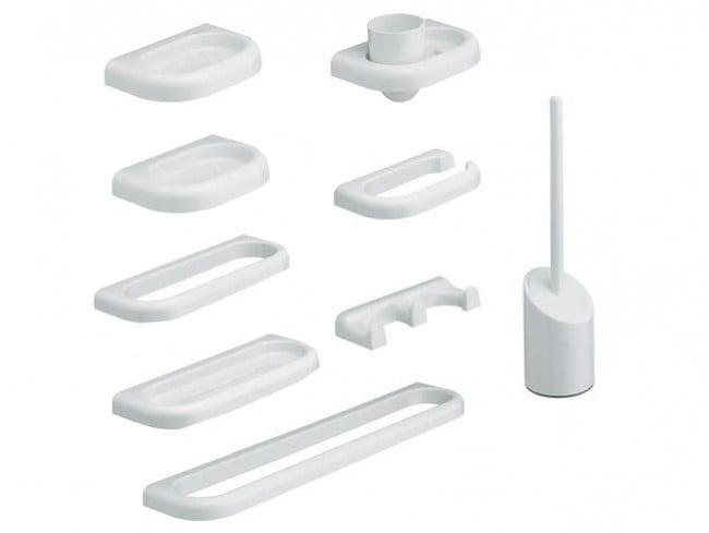 Kit Linea 9 pezzi Metaform accessori bagno - Edil Siani