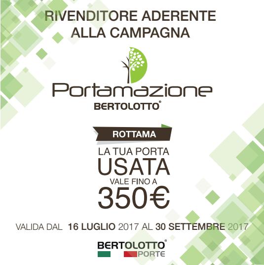 BERTOLOTTO PORTE - PORTAMAZIONE