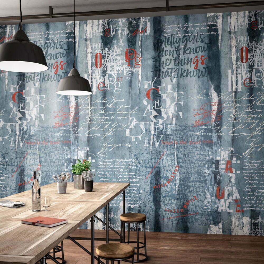 kerlite wanderwall script plus prima scelta cotto d 39 este. Black Bedroom Furniture Sets. Home Design Ideas