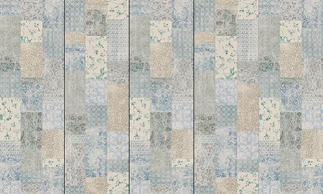 kerlite wanderwall patchwork plus prima scelta cotto d. Black Bedroom Furniture Sets. Home Design Ideas