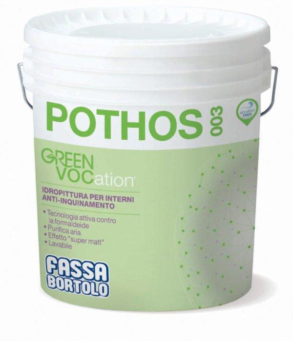 POTHOS 003 fassa bortolo idropittura anti-inquinamento per interni - edil siani