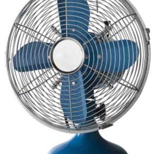 Ventilatore da tavolo CROMO 30 BLU Cfg EV039 - Edil Siani