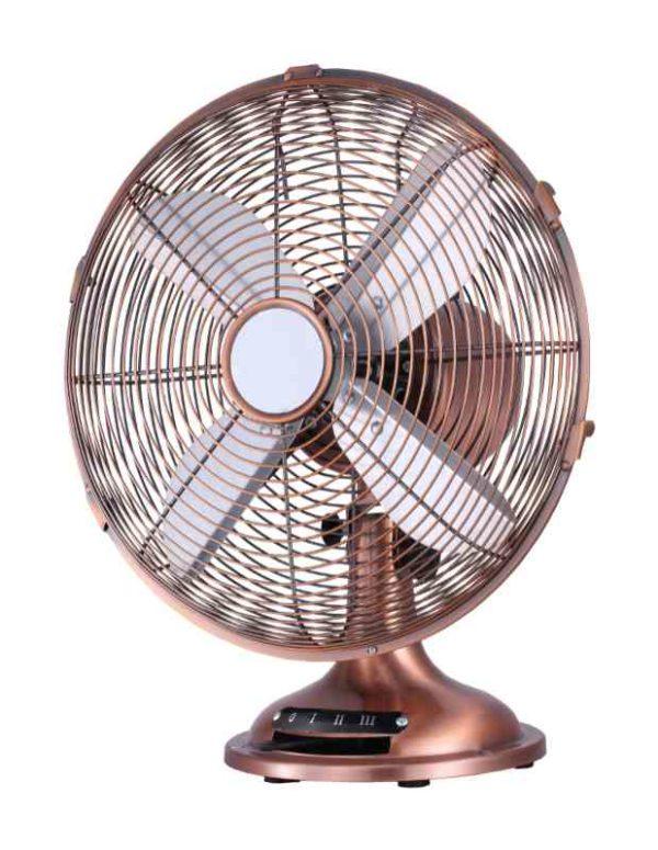 Ventilatore da tavolo RAME 30 TAVOLO Cfg EV043 in metallo color rame - EDIL SIANI