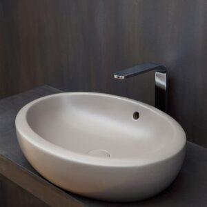 fluid lavabo appoggio 60 ceramica cielo - edil siani